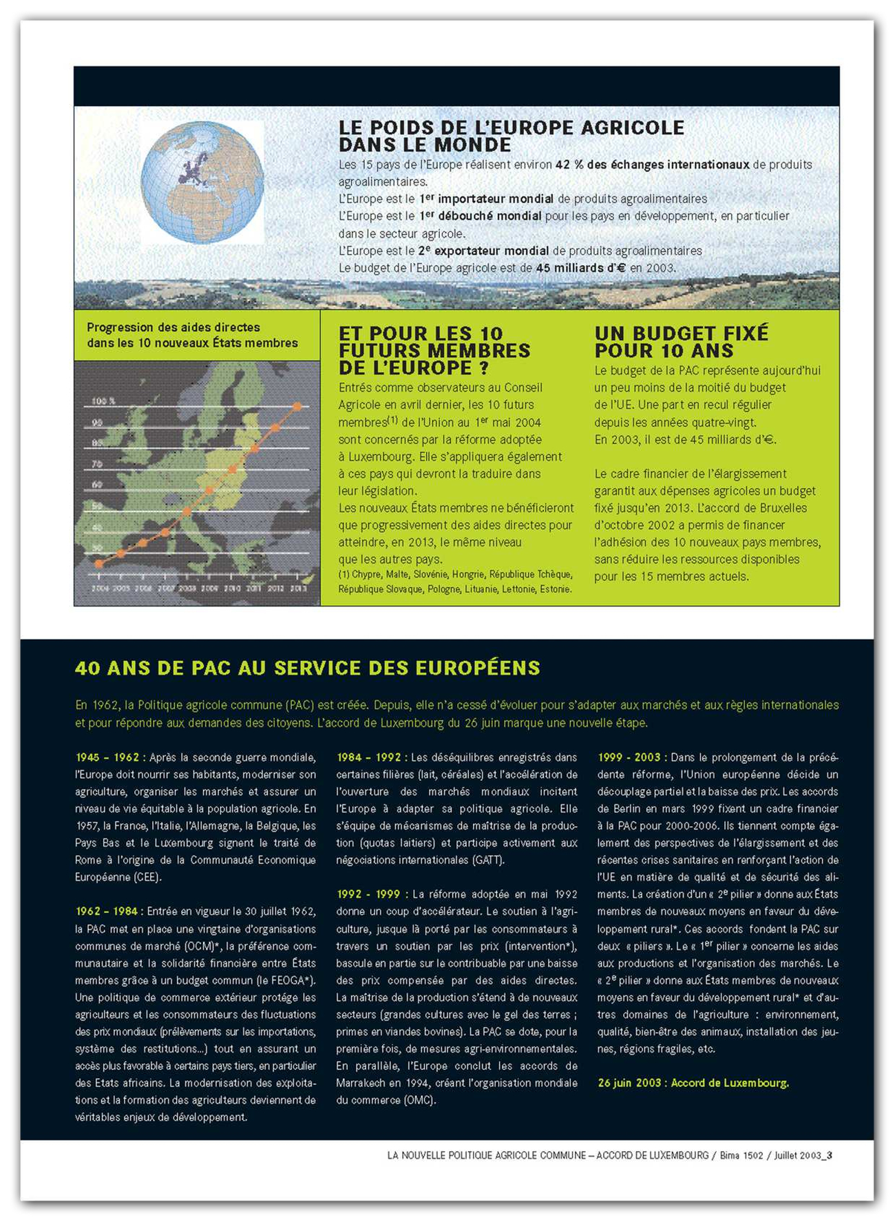 Brochure Published By The French Ministry Of Agriculture On