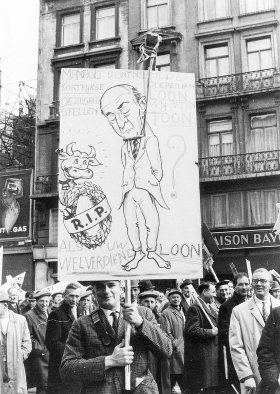 Farmers' demonstration (Brussels, 23 March 1971)