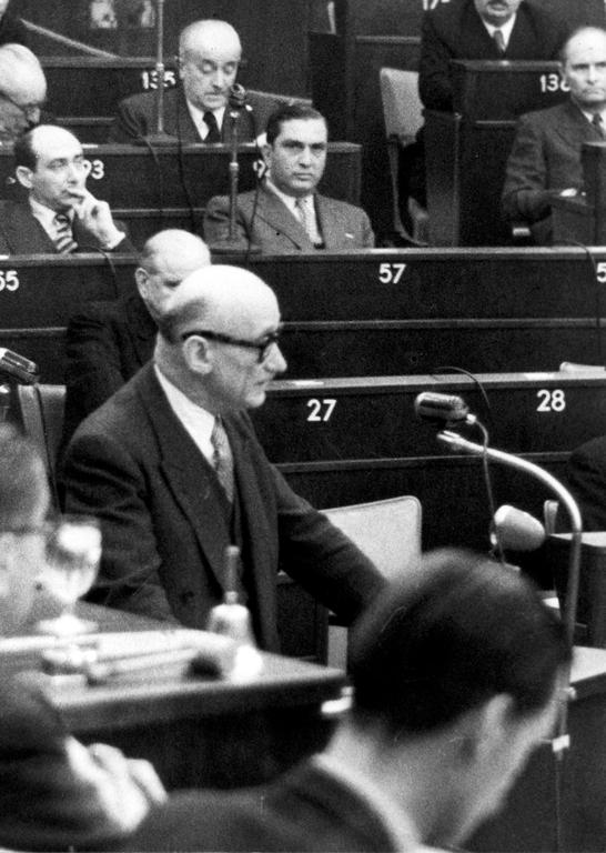 Robert Schuman calls for European unity (Strasbourg, 10 August 1950)