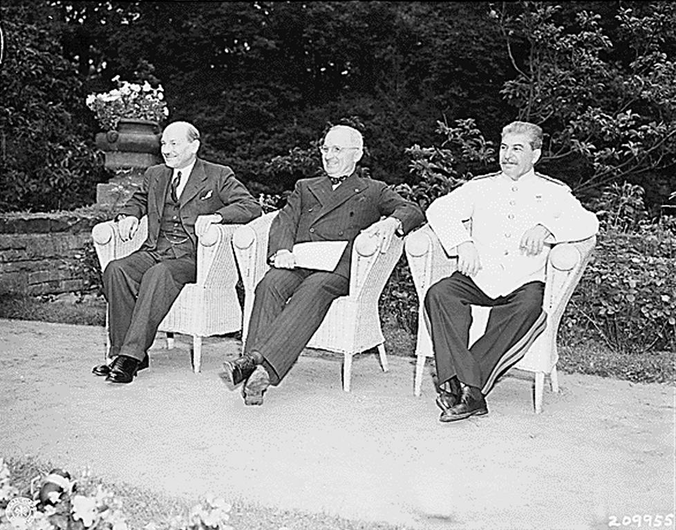 The Potsdam Conference (17 July to 2 August 1945)