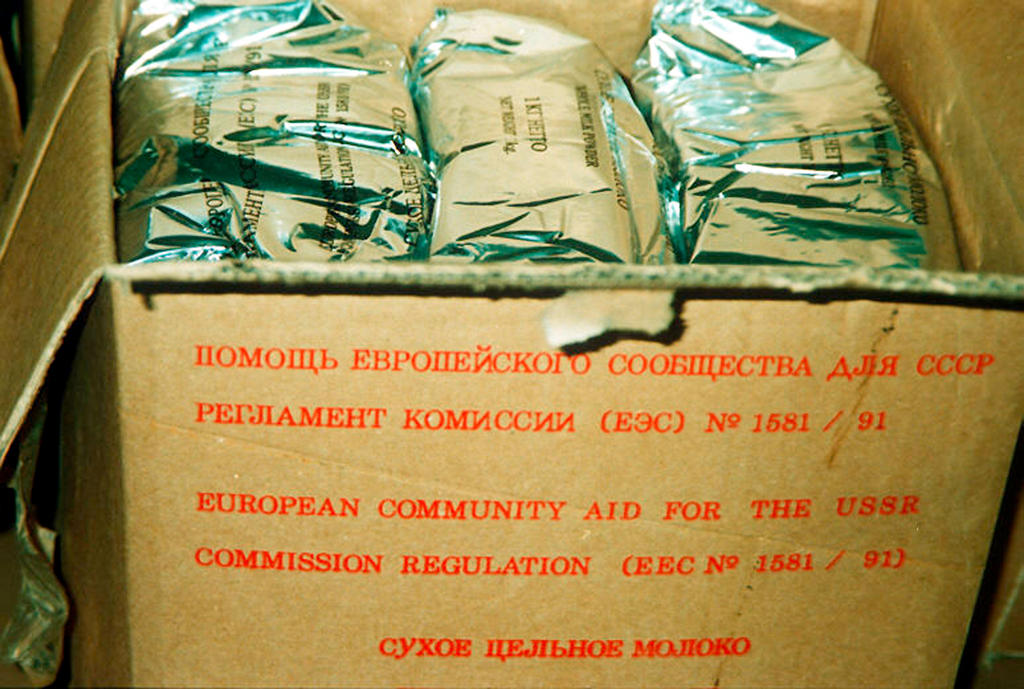 Emergency food aid for Russia (December 1991)