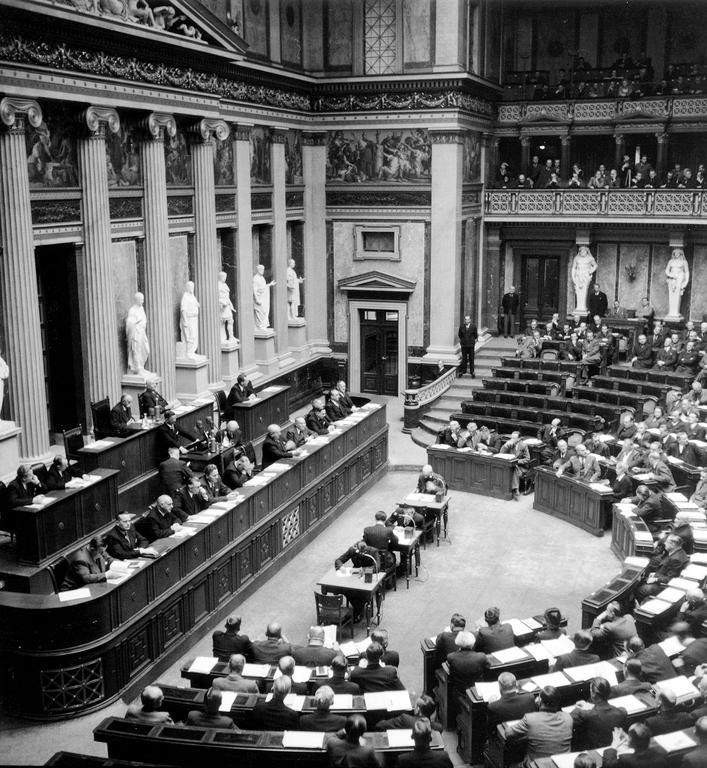 Session of the Austrian Parliament (1949)