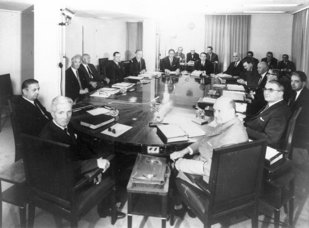 Meeting of the Rey Commission (1967)