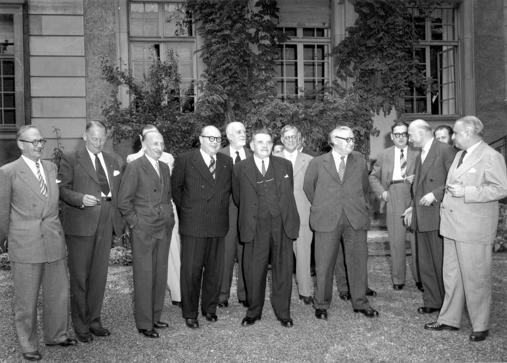 The establishment of the Council of Europe (Strasbourg, 10 August 1949)