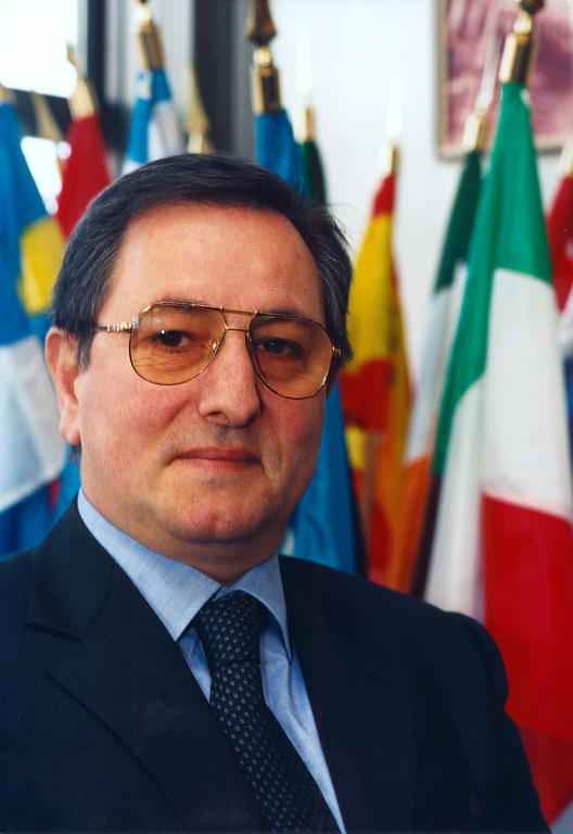 Enrico Gibellieri, last President of the ECSC Consultative Committee