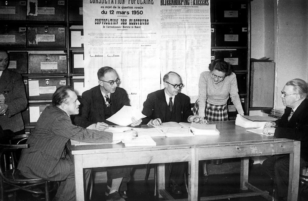 Referendum on the issue of the monarchy (12 March 1950)
