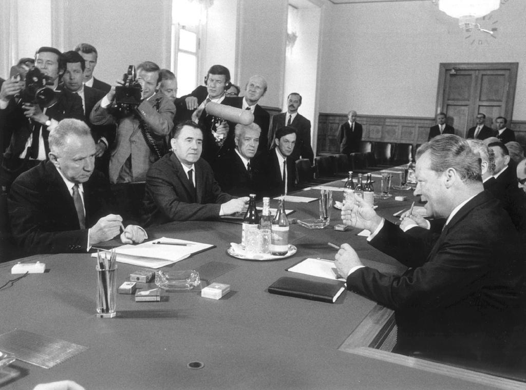 Rapprochement between West Germany and the USSR (12 August 1970)