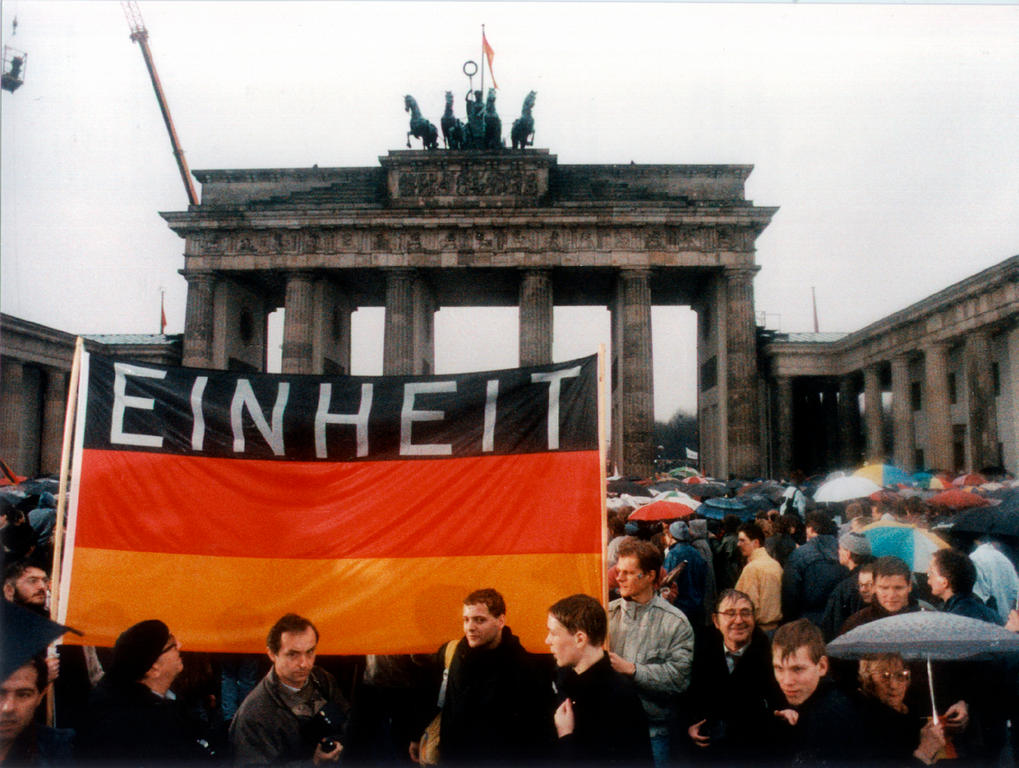 Reunification of Germany (Berlin, 9 November 1989)