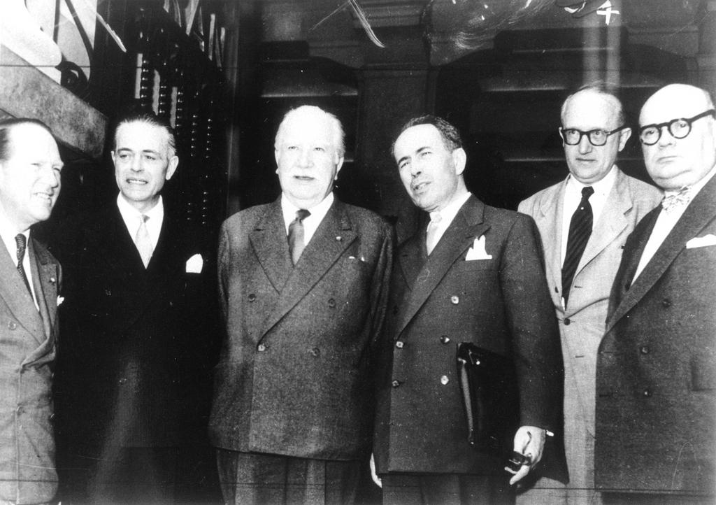 The Messina Conference (1–3 June 1955)