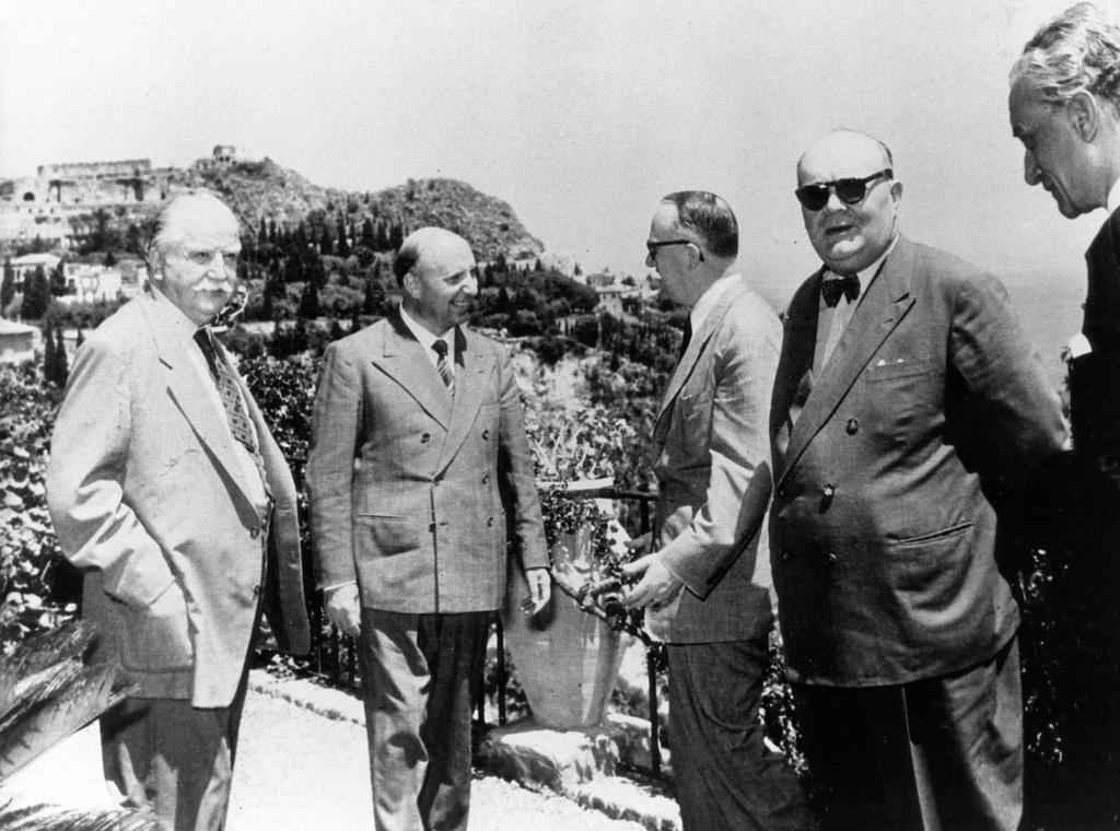 Messina Conference: Discussions in Taormina (1 June 1955)