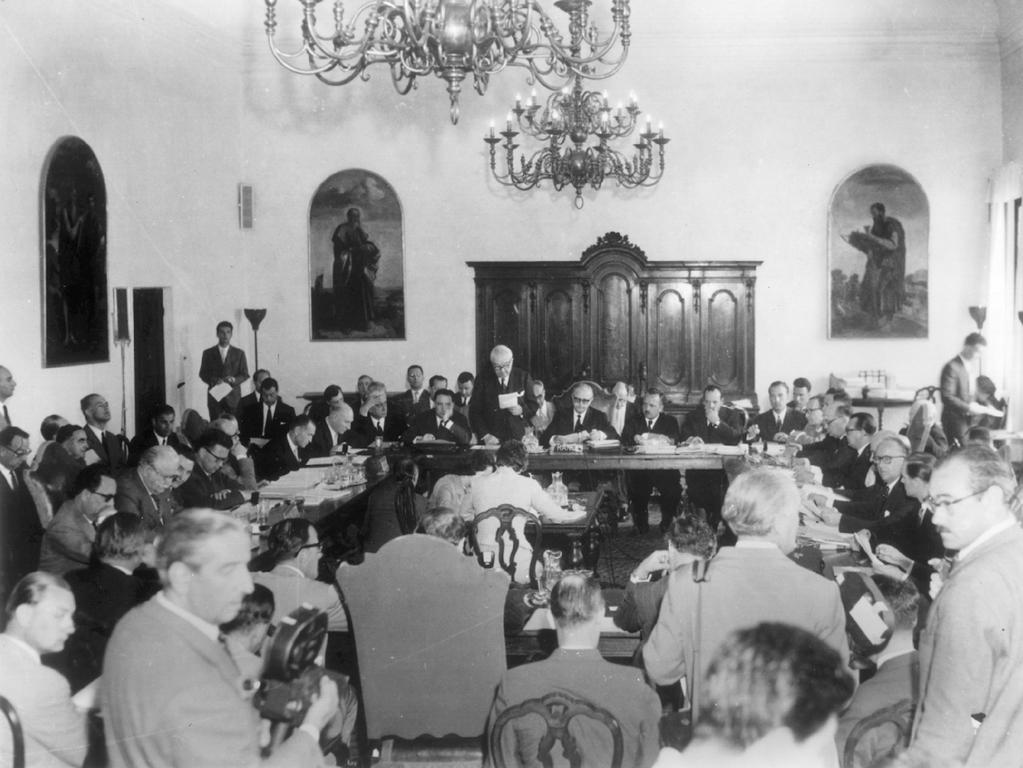 The Venice Conference (29–30 May 1956)