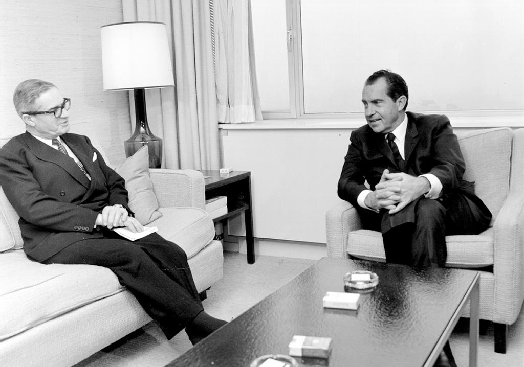 Jean Rey and Richard Nixon (Brussels, 1970)