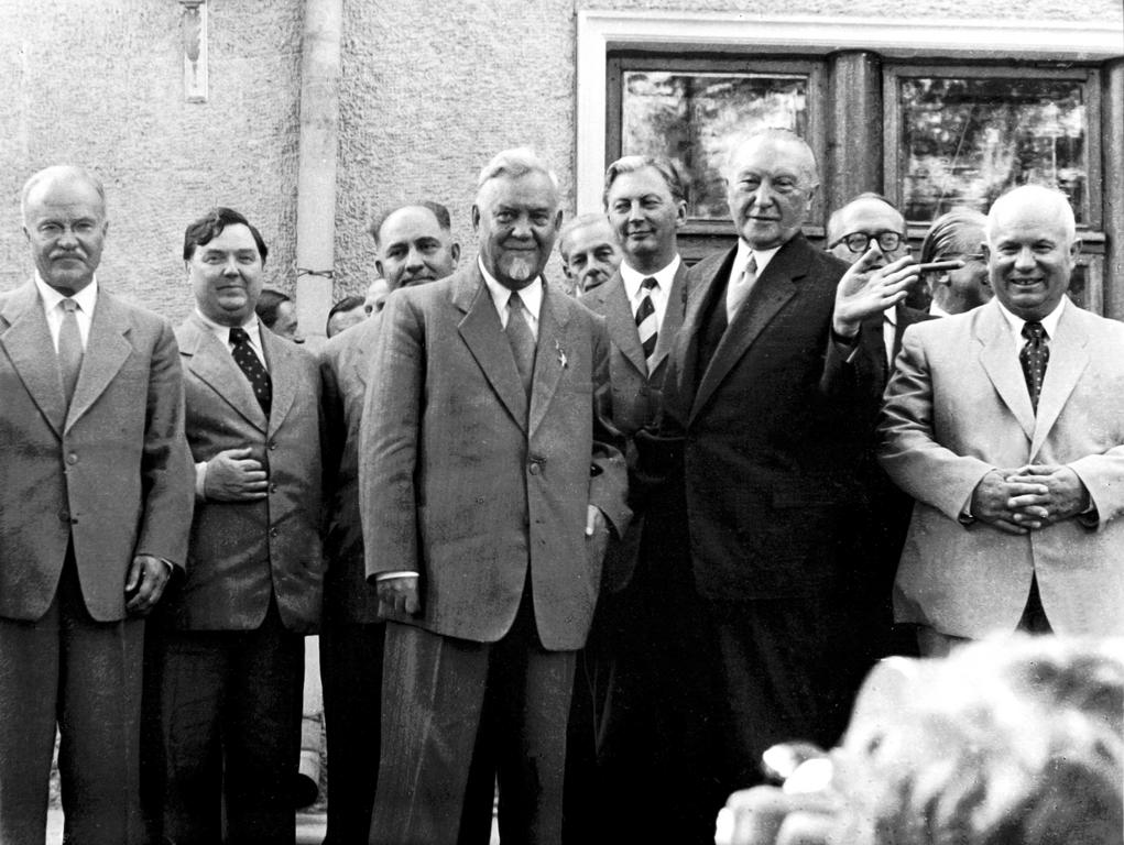 Visit by Konrad Adenauer to the Soviet Union (Moscow, 8 September 1955)