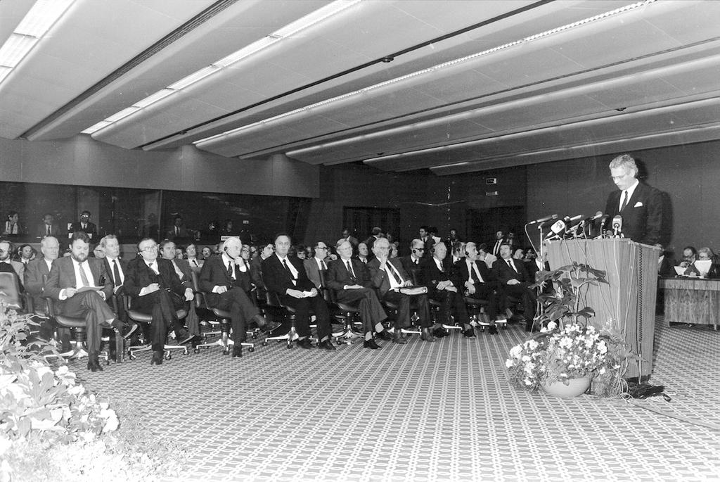 Signing of the Single European Act (Luxembourg, 17 February 1986)