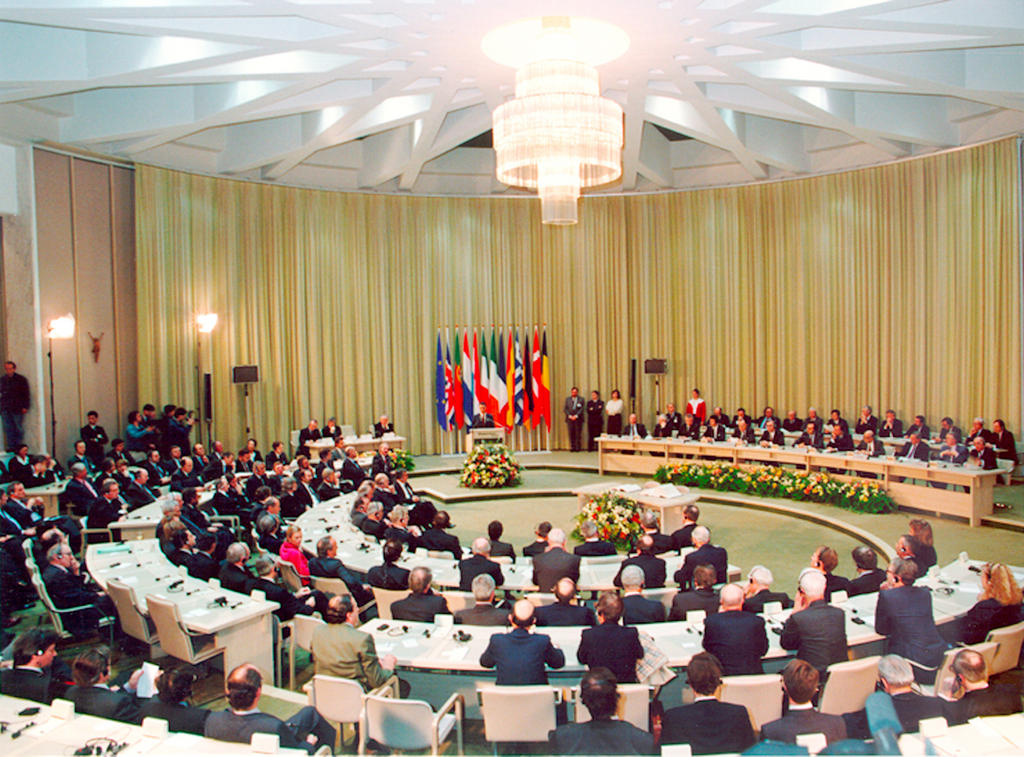 Signing of the Maastricht Treaty (7 February 1992)