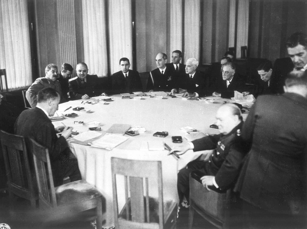 The Yalta Conference (4 to 11 February 1945)