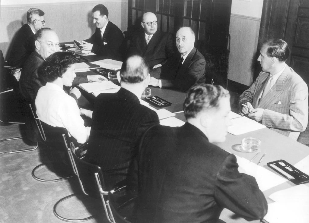 Meeting of the ECSC High Authority