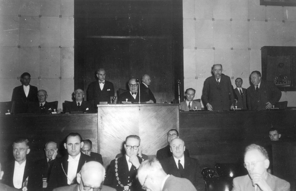 First sitting of the ECSC Common Assembly (Strasbourg, 10 September 1952)