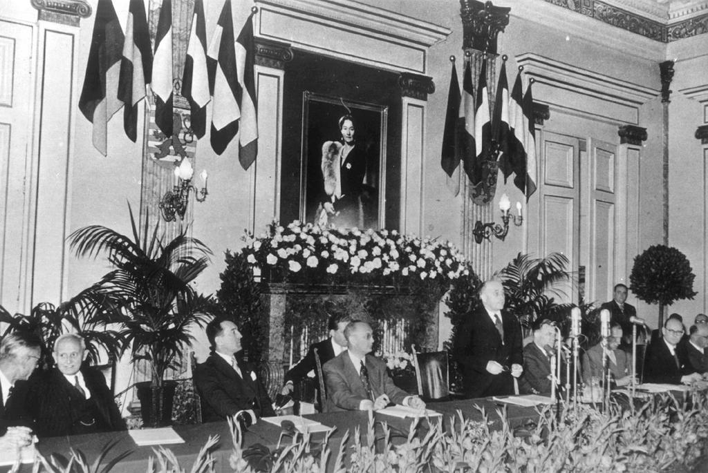 The inaugural session of the High Authority (Luxembourg, 10 August 1952)