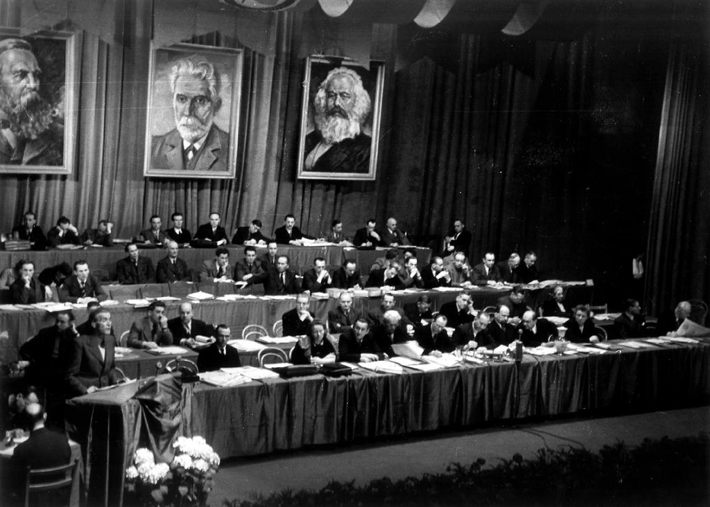 Congress of the Socialist Unity Party of Germany (Berlin, 22 April 1946)