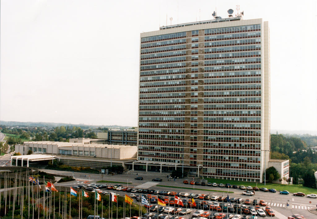 The European Parliament's Alcide De Gasperi Building (Luxembourg)