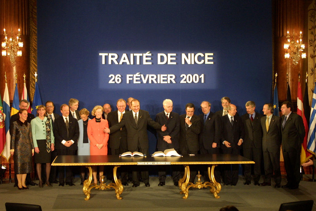 Signing of the Treaty of Nice (Nice, 26 February 2001)