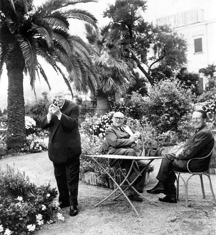 Joseph Bech, Paul-Henri Spaak and Johan Willem Beyen at the Messina Conference (1 to 3 June 1955)