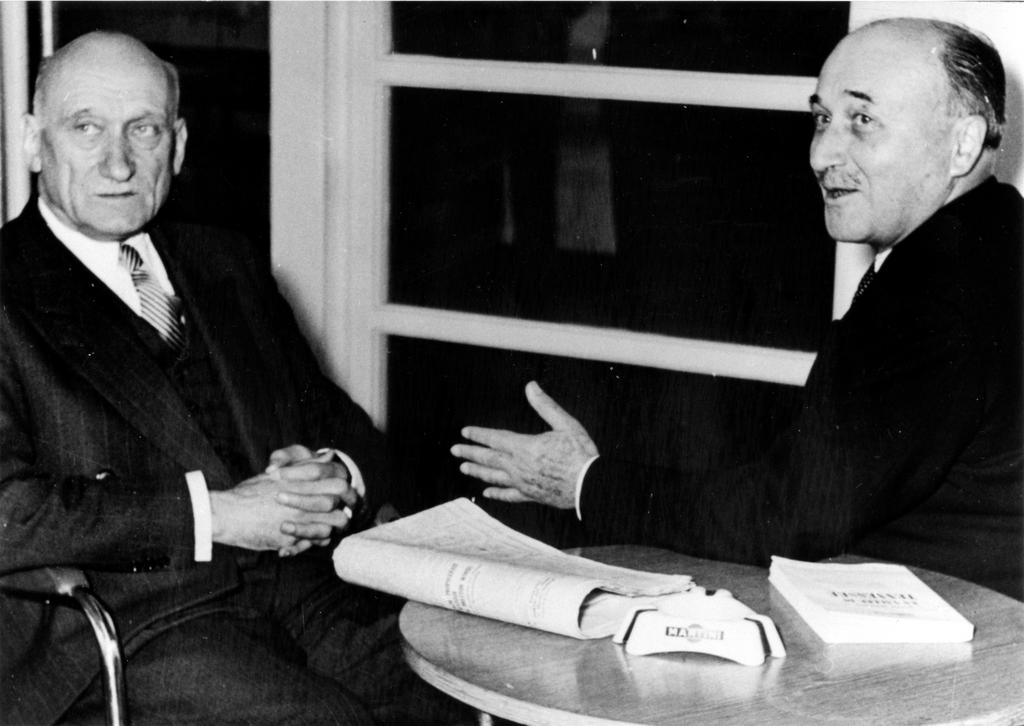 Robert Schuman and Jean Monnet