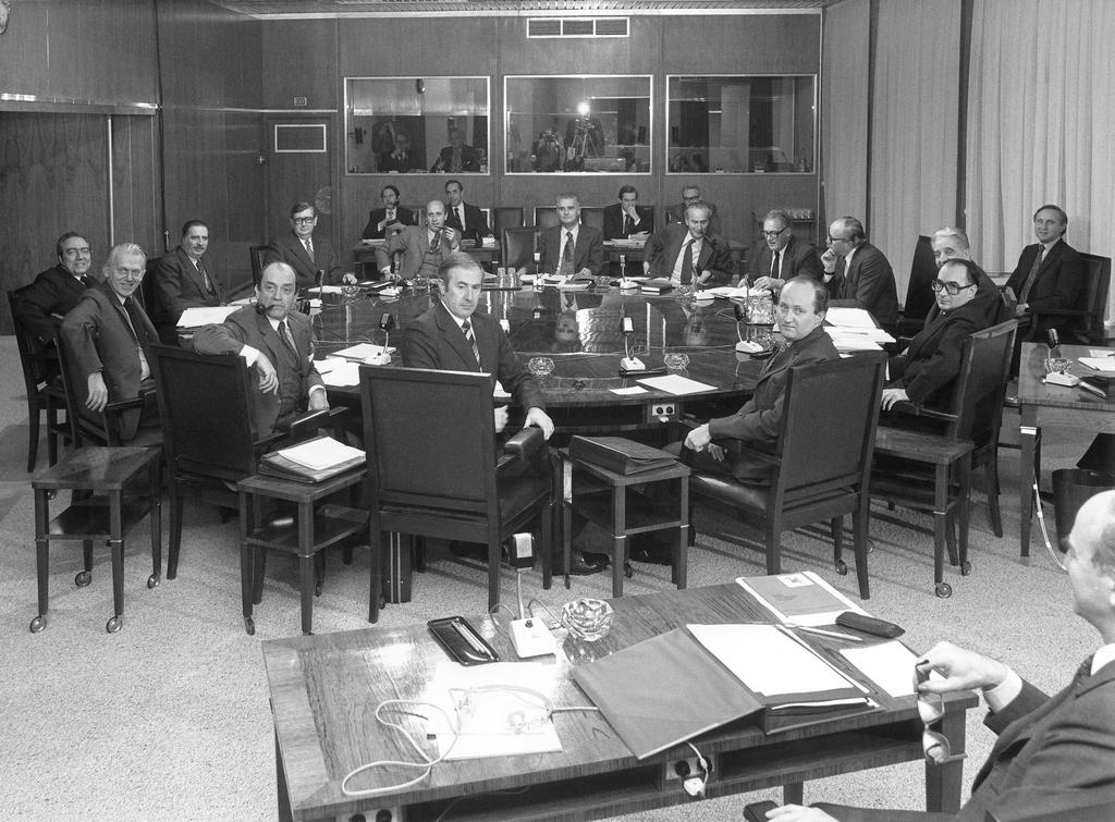 Meeting of the Jenkins Commission (1978)