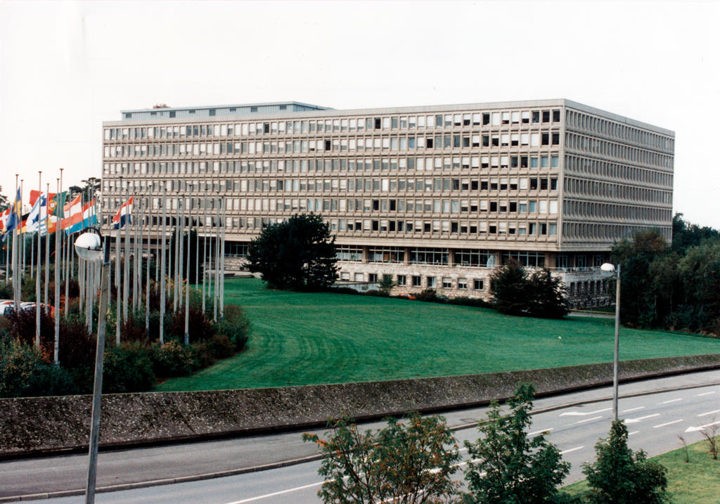 The European Parliament's Robert Schuman Building (Luxembourg)