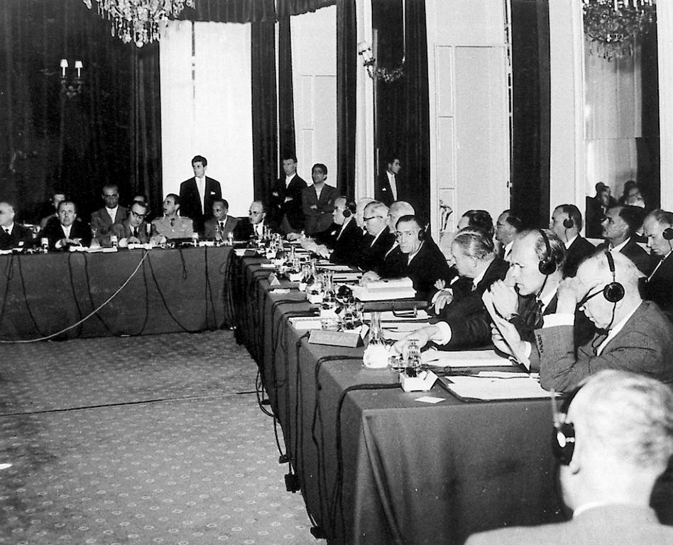The Stresa Conference (3 to 12 July 1958)
