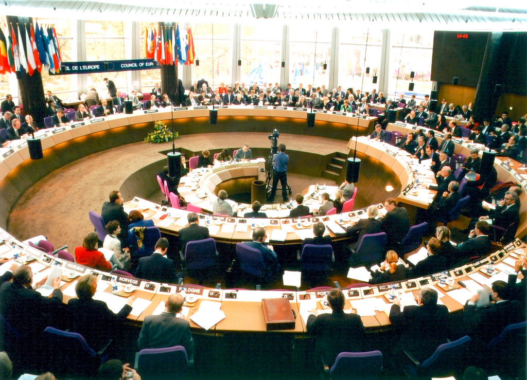 Meeting of the Council of Europe's Committee of Ministers