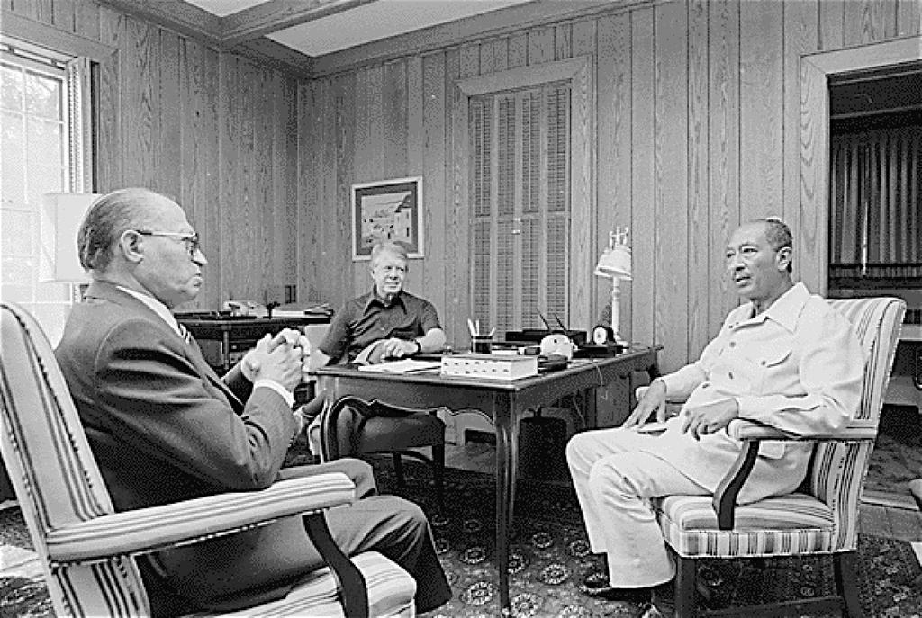 Negotiations at Camp David