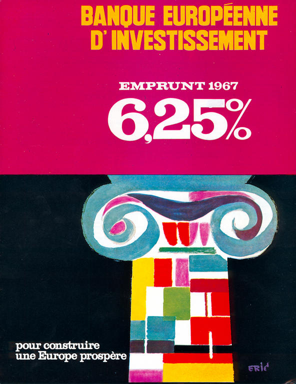Leaflet from the European Investment Bank (1967)