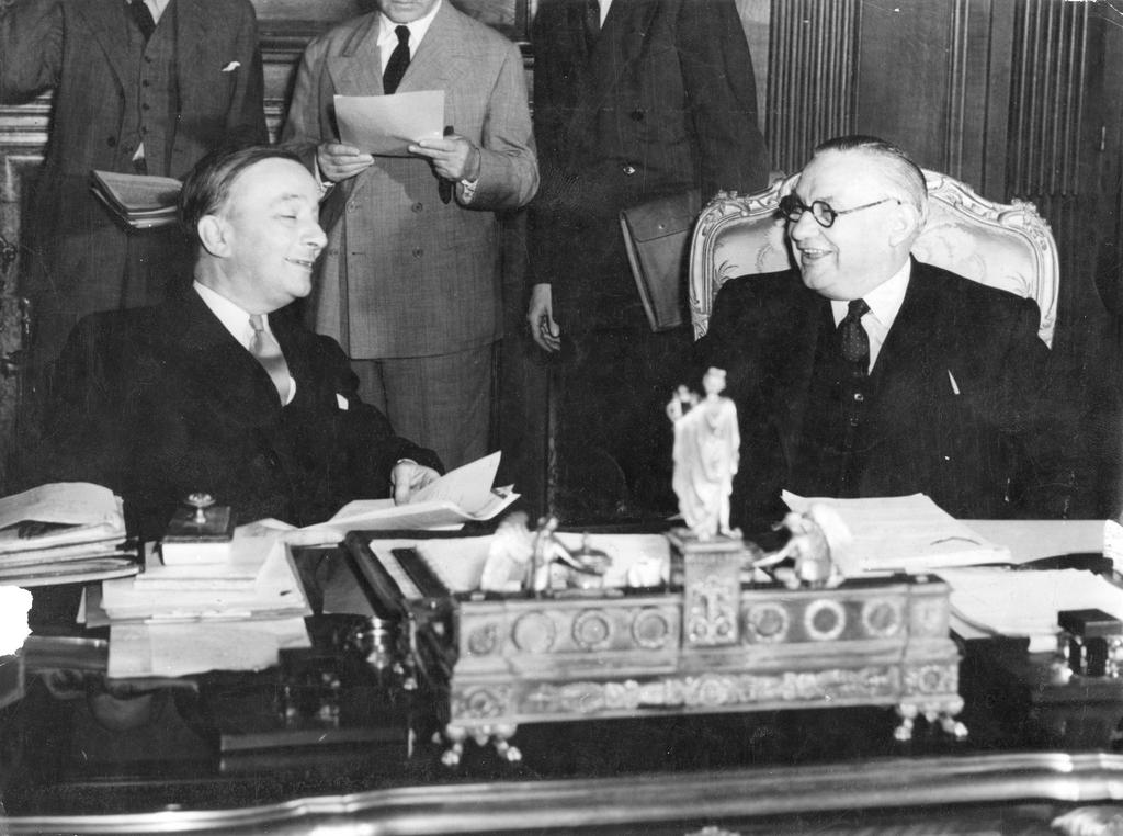Franco-British conference on the Marshall Plan (Paris, 12 July 1947)