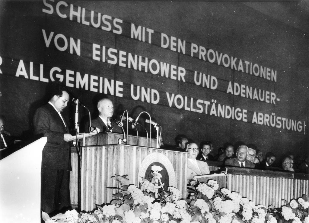 Nikita Khrushchev in East Berlin (1960)