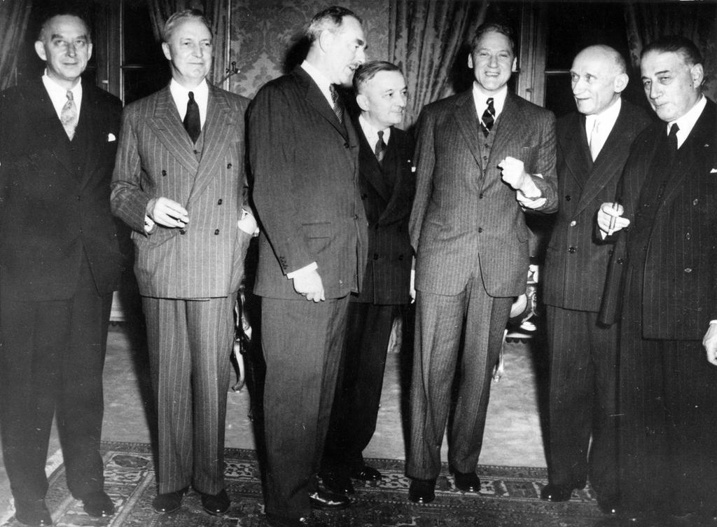 Dean Acheson during his visit to Paris (9 May 1950) - CVCE Website