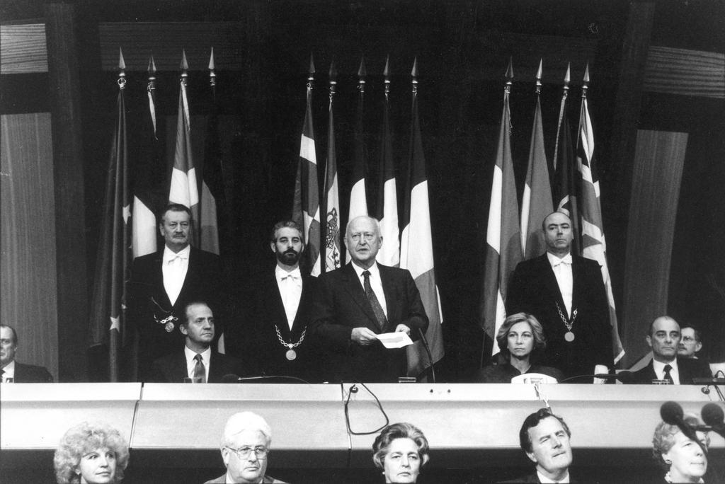 Spain enters the European Parliament (Strasbourg, 14 January 1986)