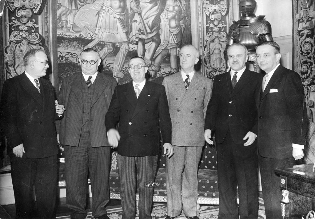 Conference of the Council of foreign ministers (Paris, 25 April to 12 July 1946)