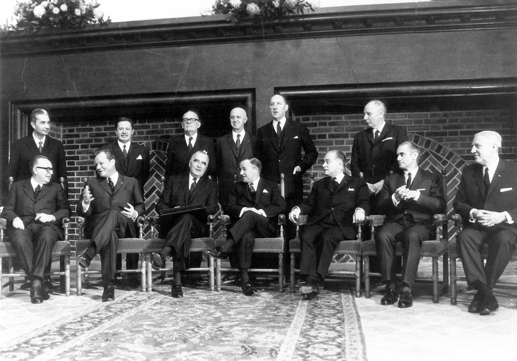 Relaunch of European integration at The Hague (1 and 2 December 1969)