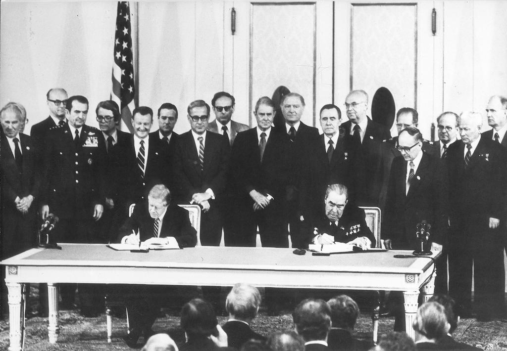 Signature des accords SALT II (Vienne, 18 juin 1979)