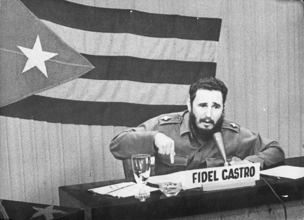 Fidel Castro and the missile crisis (29 October 1962)