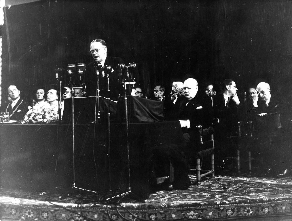 Address given by P. A. Kerstens at the opening of the Hague Congress (7 May 1948)