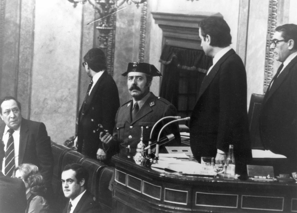 Attempted coup d'état in Spain by Colonel Tejero (Madrid, 23 February 1981)