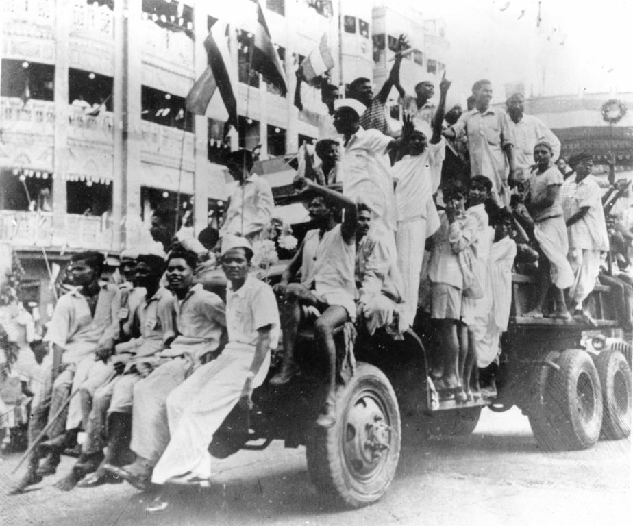 Indian independence (15 August 1947)