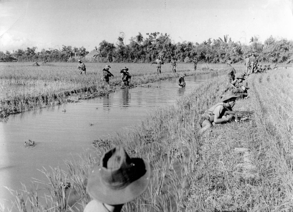 Vietnamese soldiers during the Indo-China War (1945–1954)