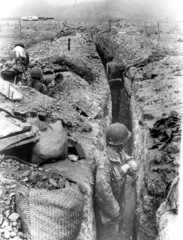 The battle of Dien Bien Phu (1954)