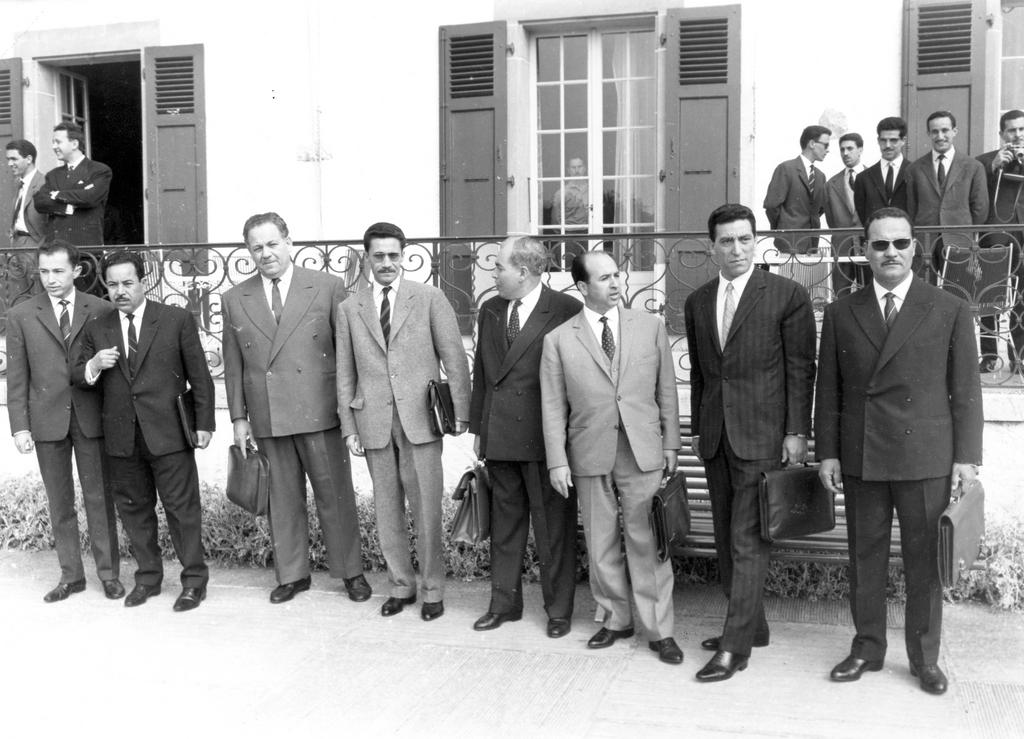 The Algerian Delegation to the first Evian Conference (20 May to 13 June 1961)