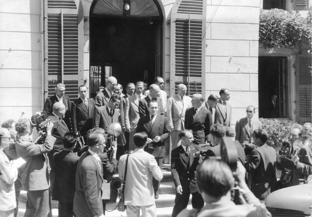 The Geneva Conference (20 and 21 July 1954)