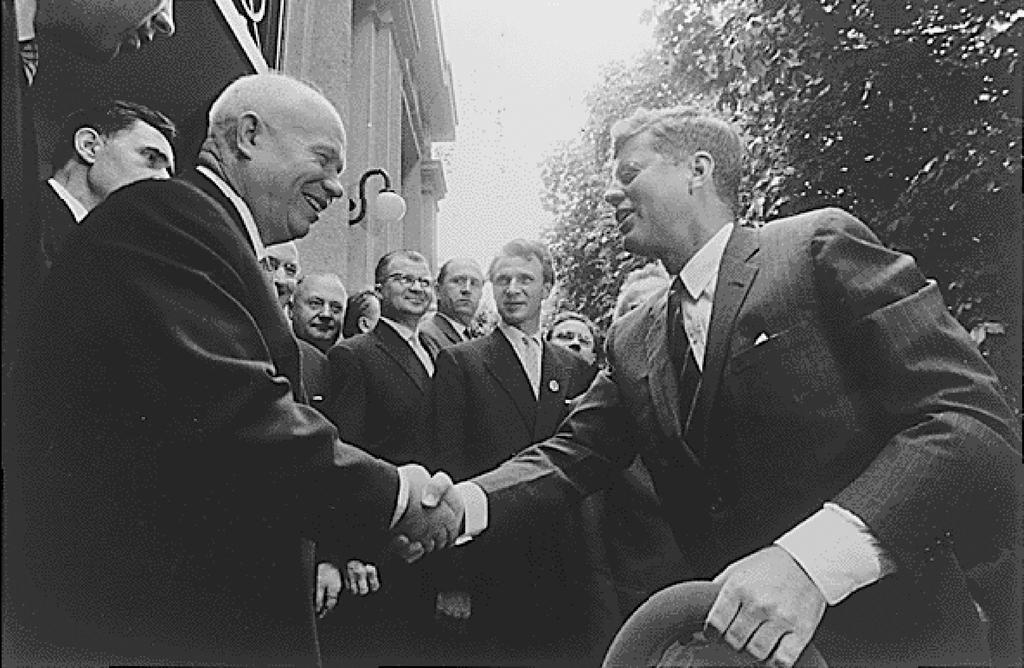 Rencontre kennedy khrouchtchev vienne